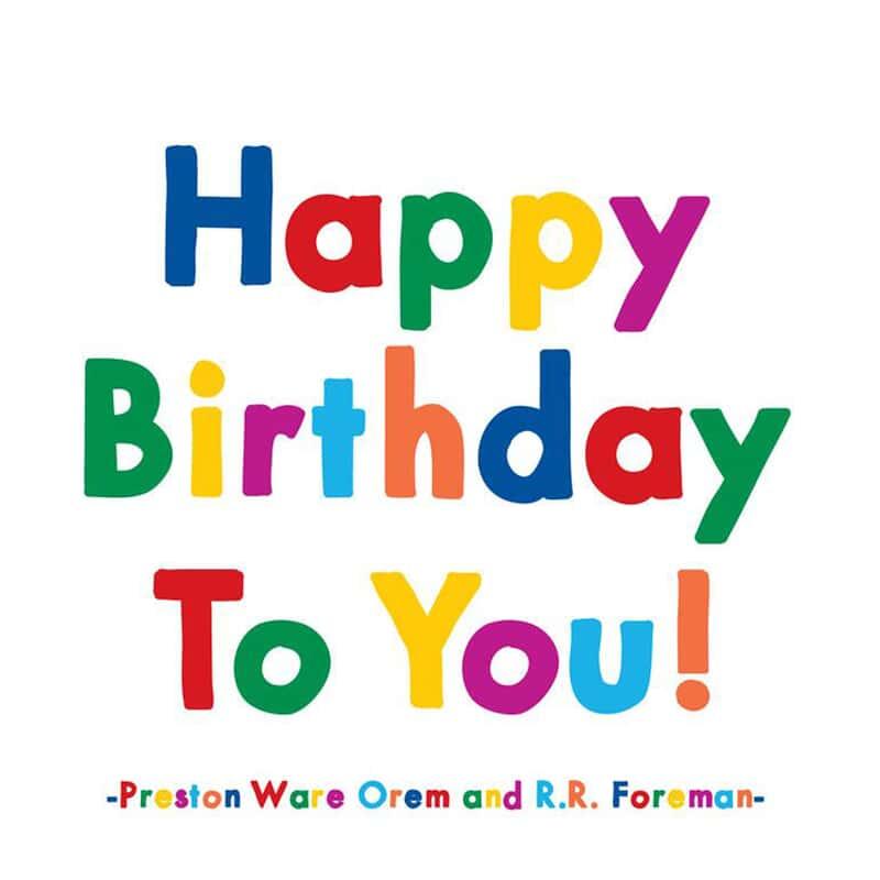 Orem Foreman Birthday Card Paper August Haven Furniture