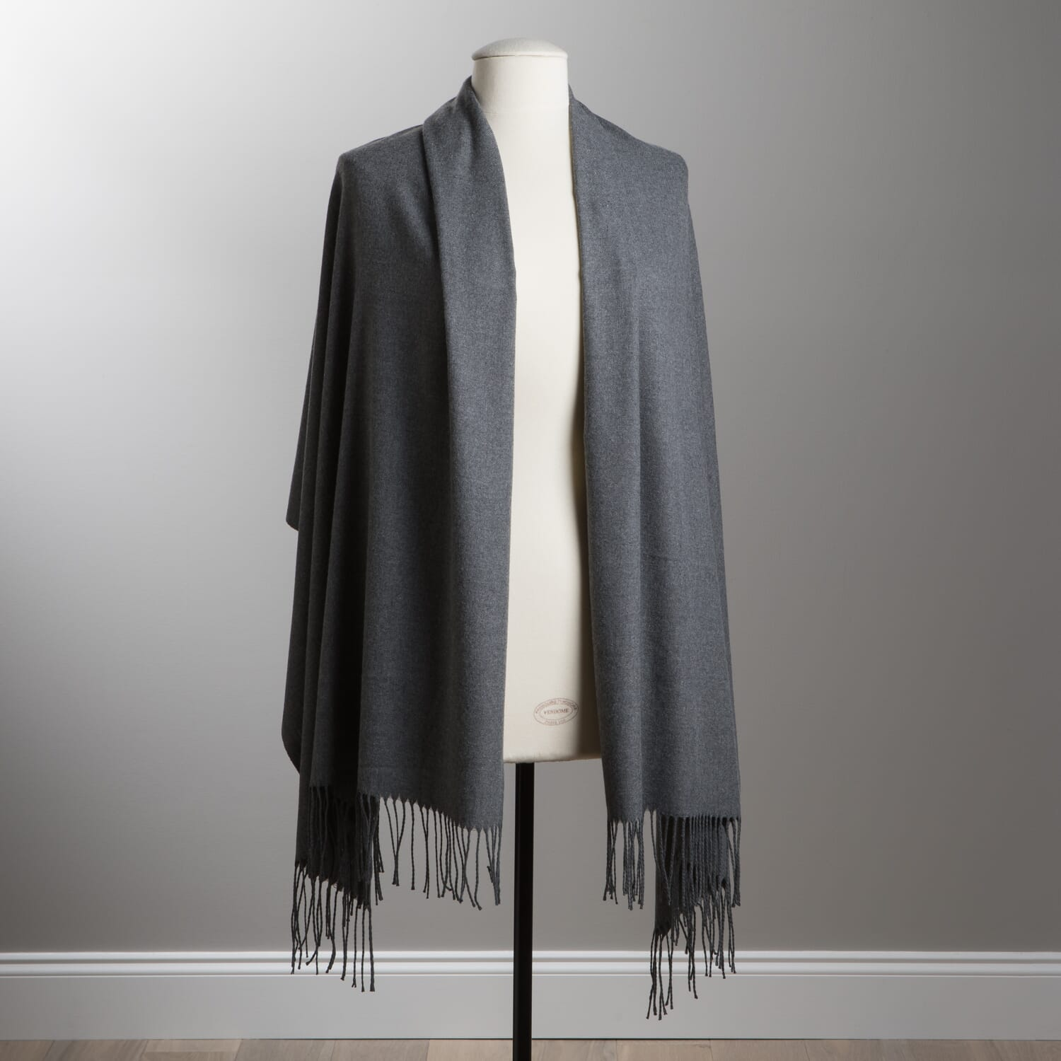 93a6e1482ecd5 Grey Faux Cashmere Scarf   For Her   August Haven