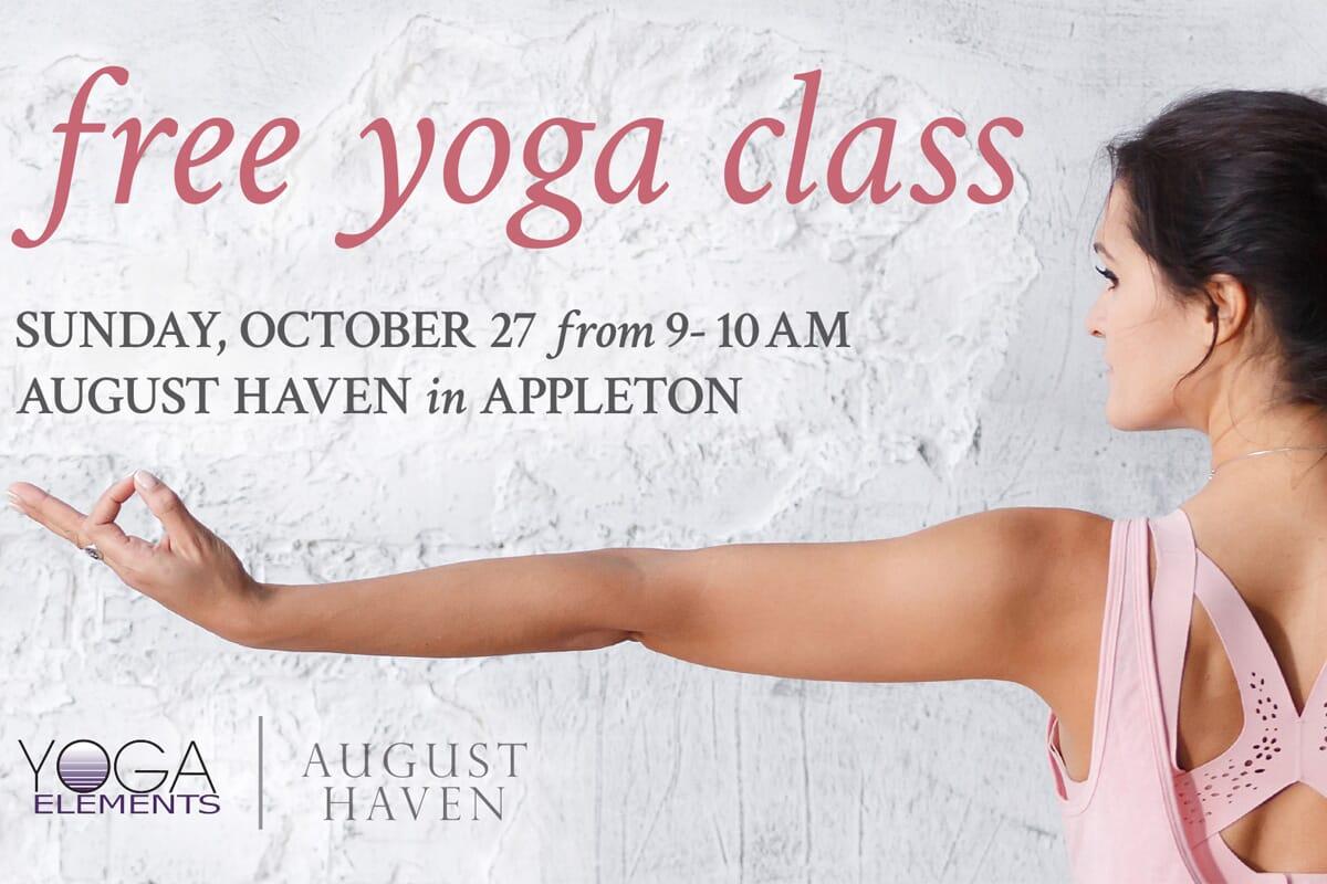 Free Yoga Class w/ Yoga Elements