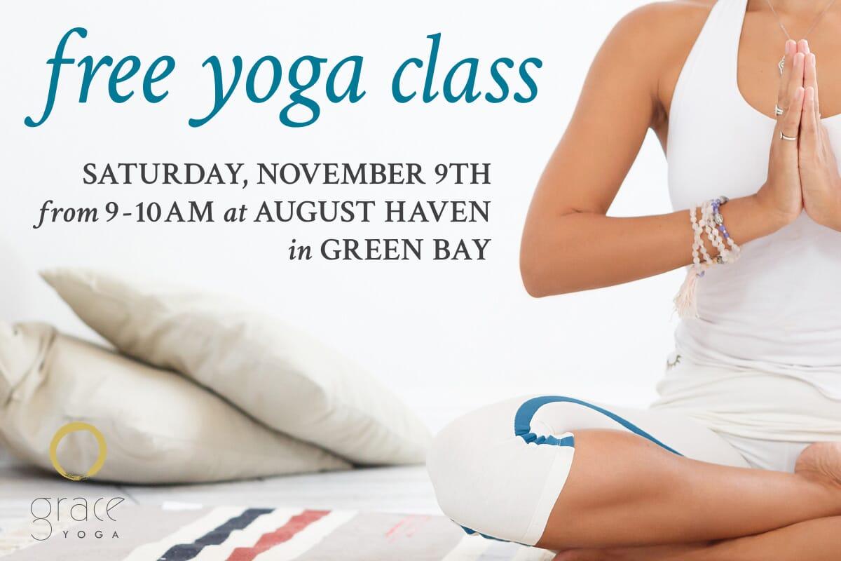 Free Yoga Class w/ Grace Yoga Studio