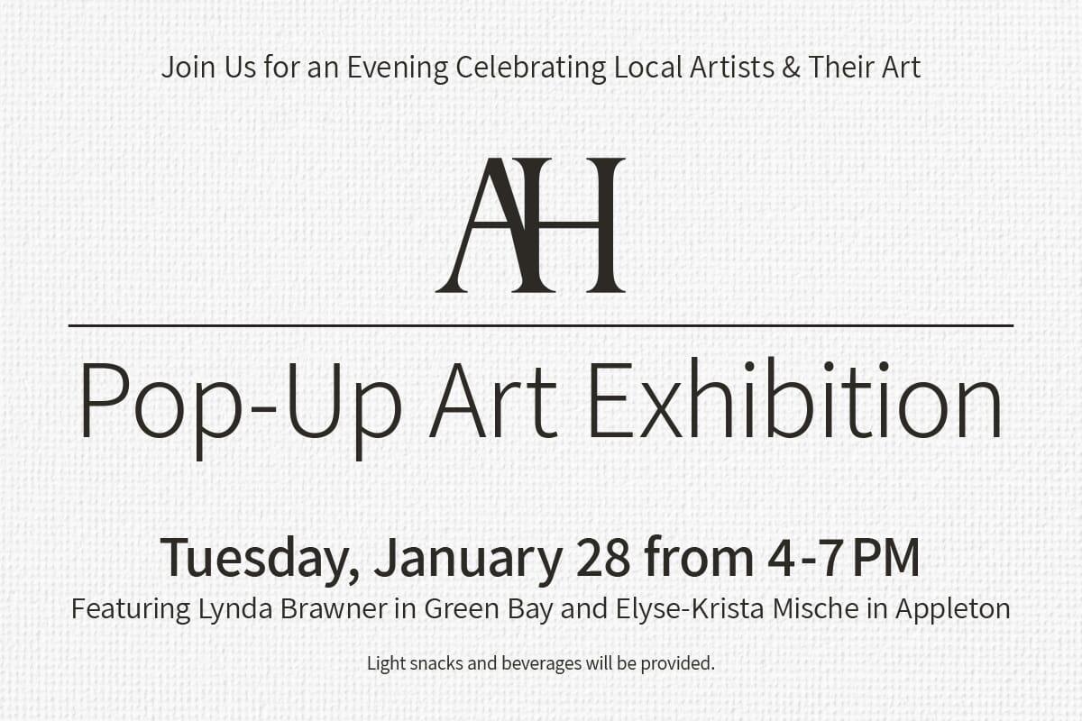 Pop-Up Art Exhibition | Opening Night Artist Reception