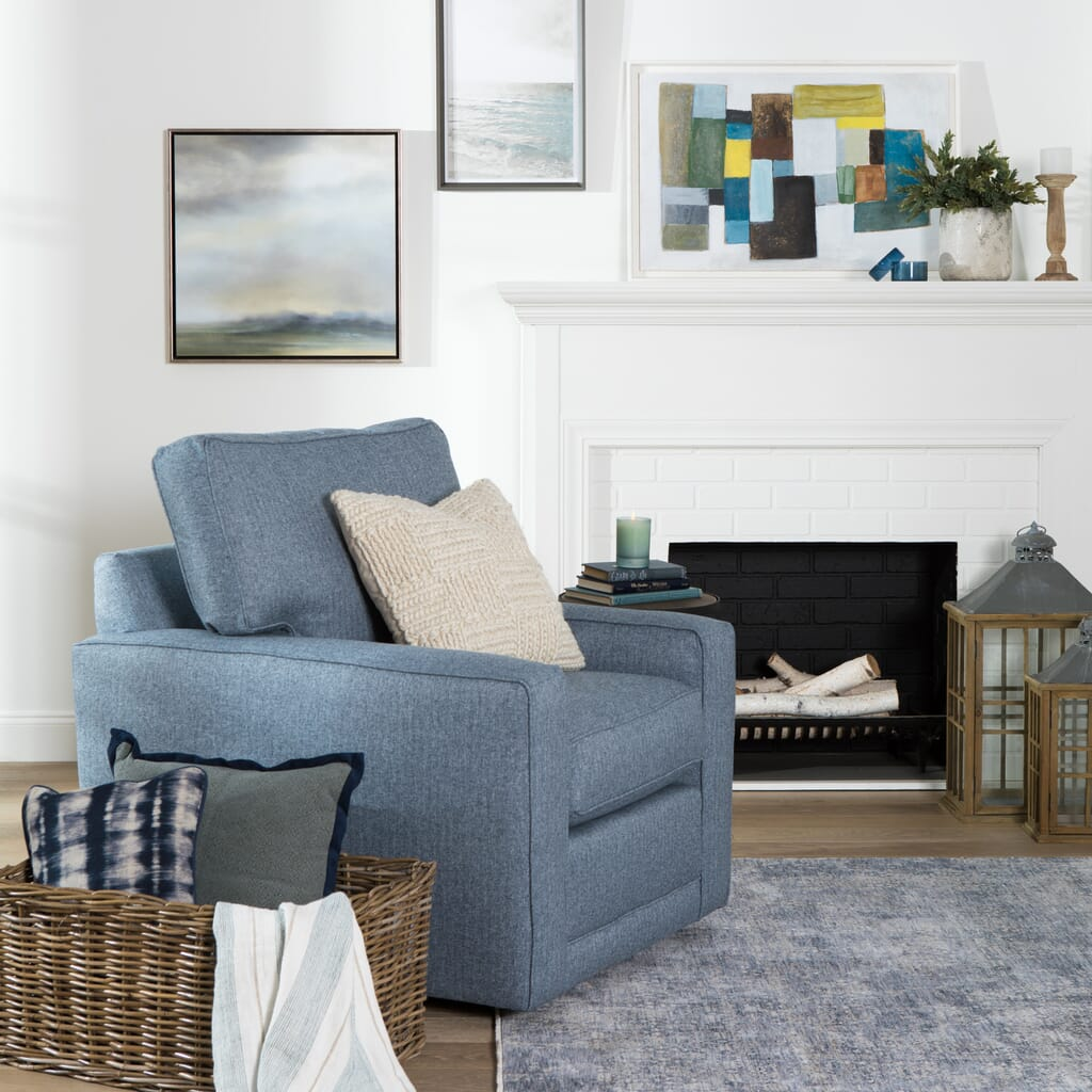 How to incorporate blue into your space
