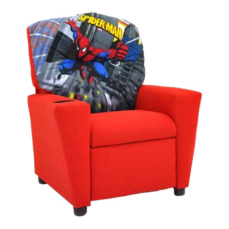 Enjoyable Arely Kid Spiderman Recliner Evergreenethics Interior Chair Design Evergreenethicsorg