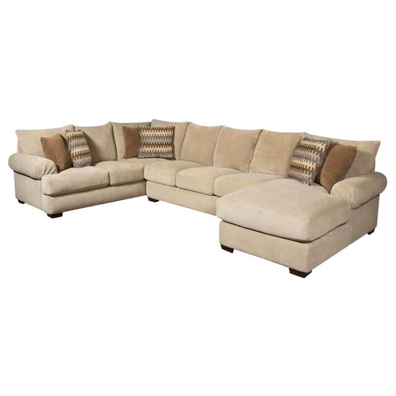 Awe Inspiring Bacarat 3 Pc Sectional Onthecornerstone Fun Painted Chair Ideas Images Onthecornerstoneorg