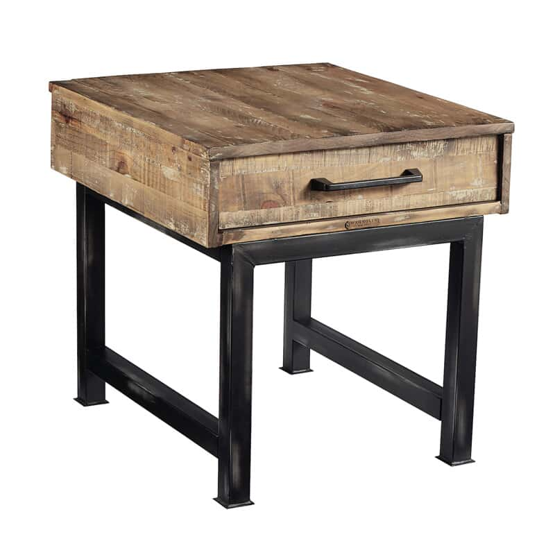 pier beam end table - End Tables For Living Room