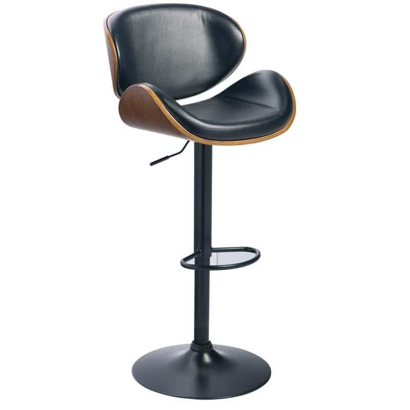 Fabulous Benton Black Adjustable Swivel Barstool Beatyapartments Chair Design Images Beatyapartmentscom