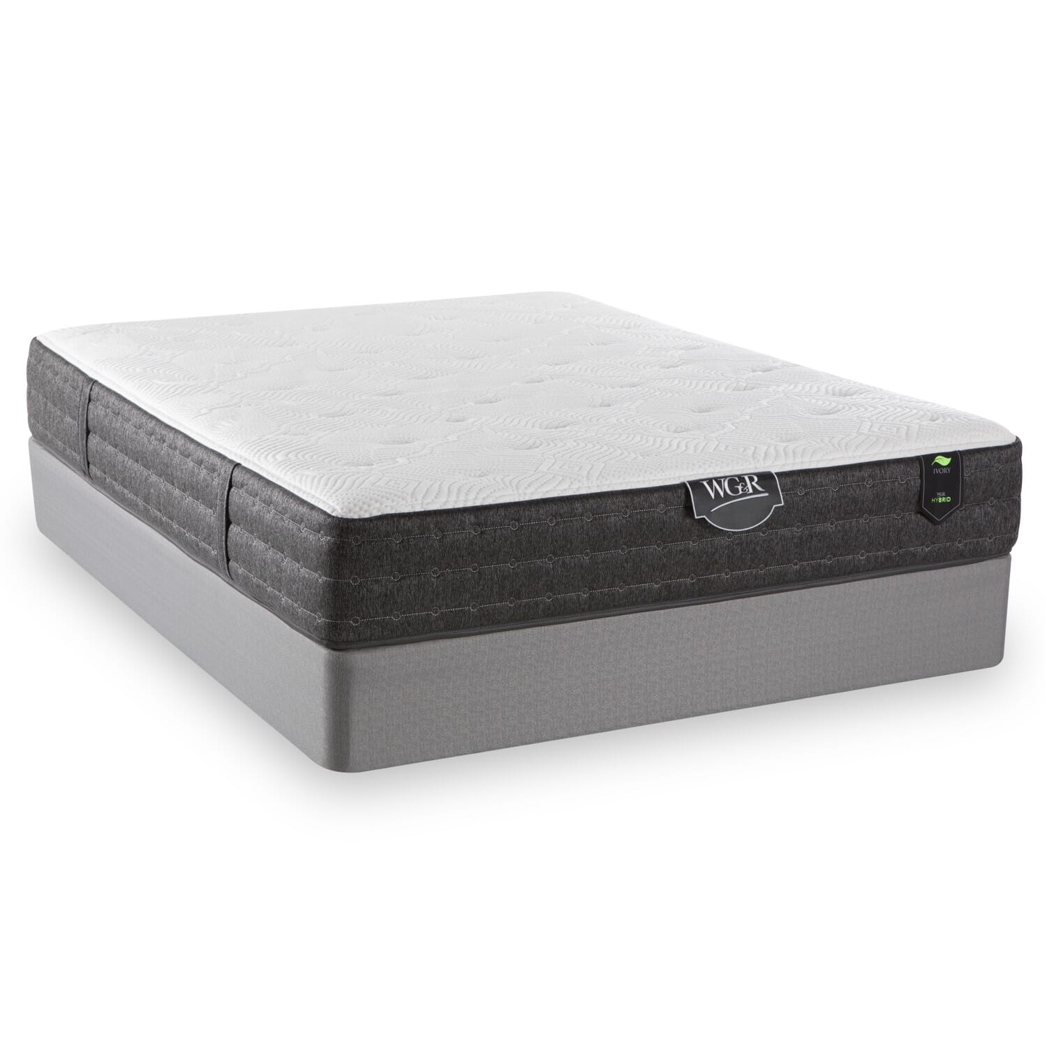 Ivory Hybrid Twin Mattress Mattresses Wg Amp R Furniture