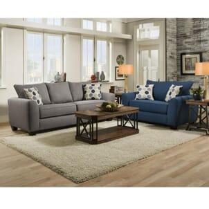 Downtown Blue Sofa