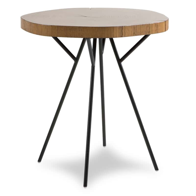 Carrie Oak Accent Table