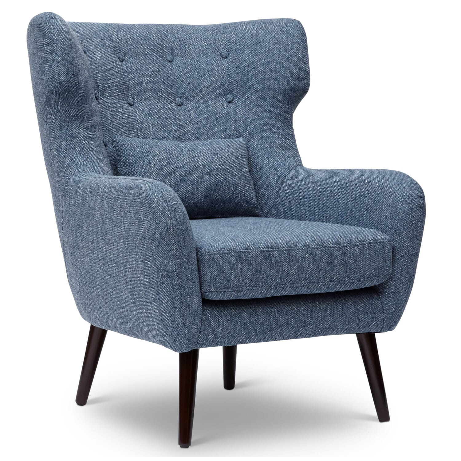 Bayley blue accent chair chairs wgr furniture
