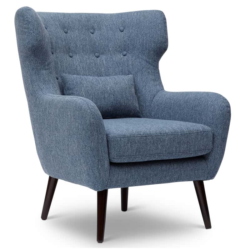 Bayley Blue Accent Chair Closeout Chairs Chairs Ottomans