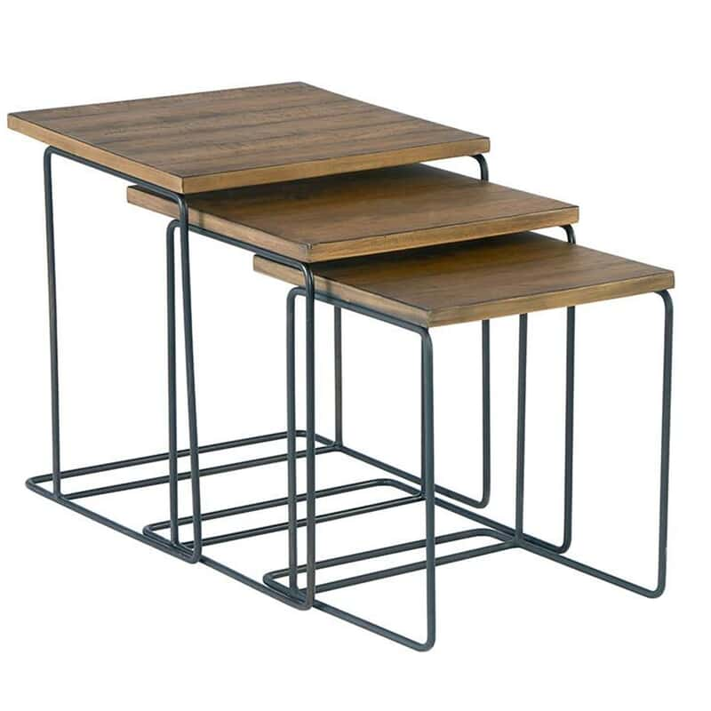 Traverse Wood Nesting Tables