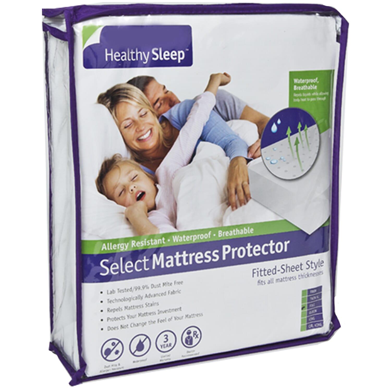 Healthy Sleep Select Twin XL Mattress Protector   Mattress ...