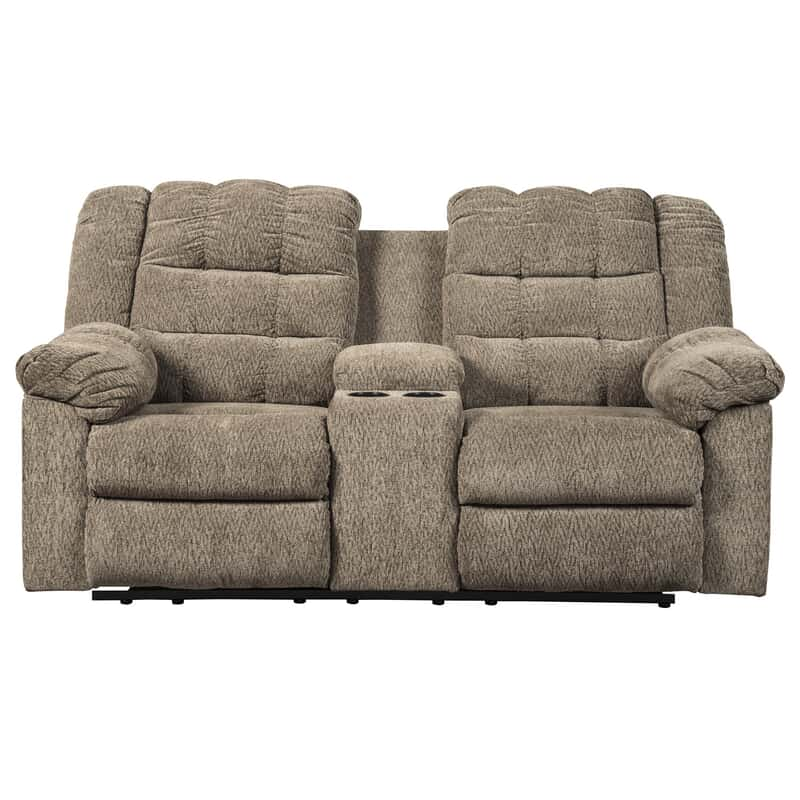 Incredible Miron Dual Reclining Loveseat Creativecarmelina Interior Chair Design Creativecarmelinacom