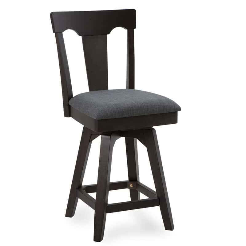 Super Weston 24 Black Counter Stool Machost Co Dining Chair Design Ideas Machostcouk