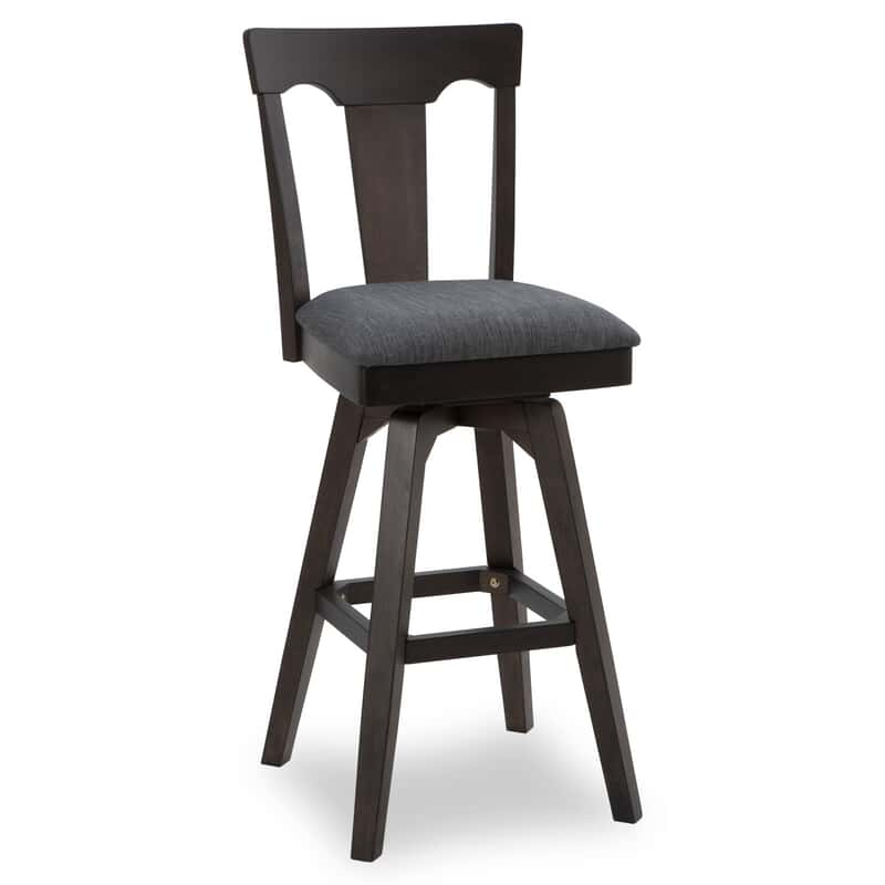 Swell Weston 30 Black Bar Stool Machost Co Dining Chair Design Ideas Machostcouk