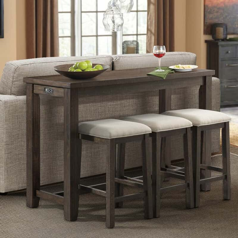52350a5ed Lunar Table with Stools   Console Tables, Sale   WG&R Furniture