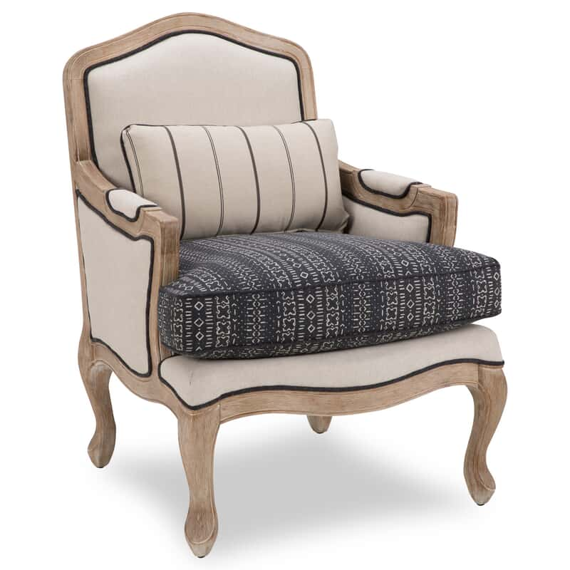 Brilliant Clive Wood Accent Chair Onthecornerstone Fun Painted Chair Ideas Images Onthecornerstoneorg