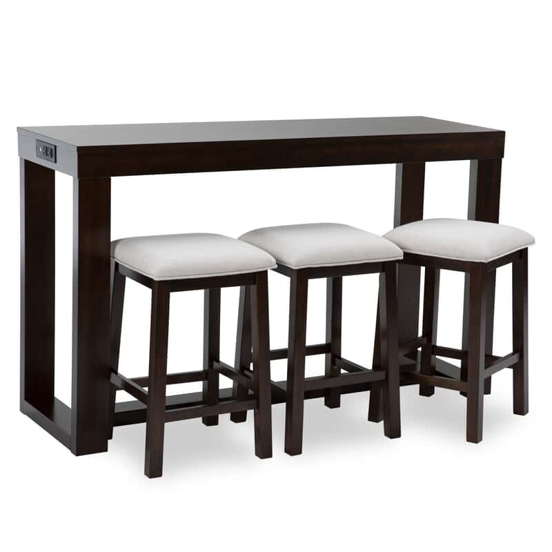 Miraculous Giselle Table With Stools Pabps2019 Chair Design Images Pabps2019Com
