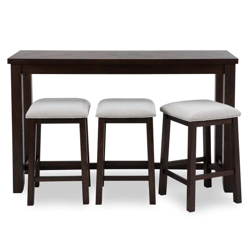 Marvelous Dasher Table With Stools Gmtry Best Dining Table And Chair Ideas Images Gmtryco