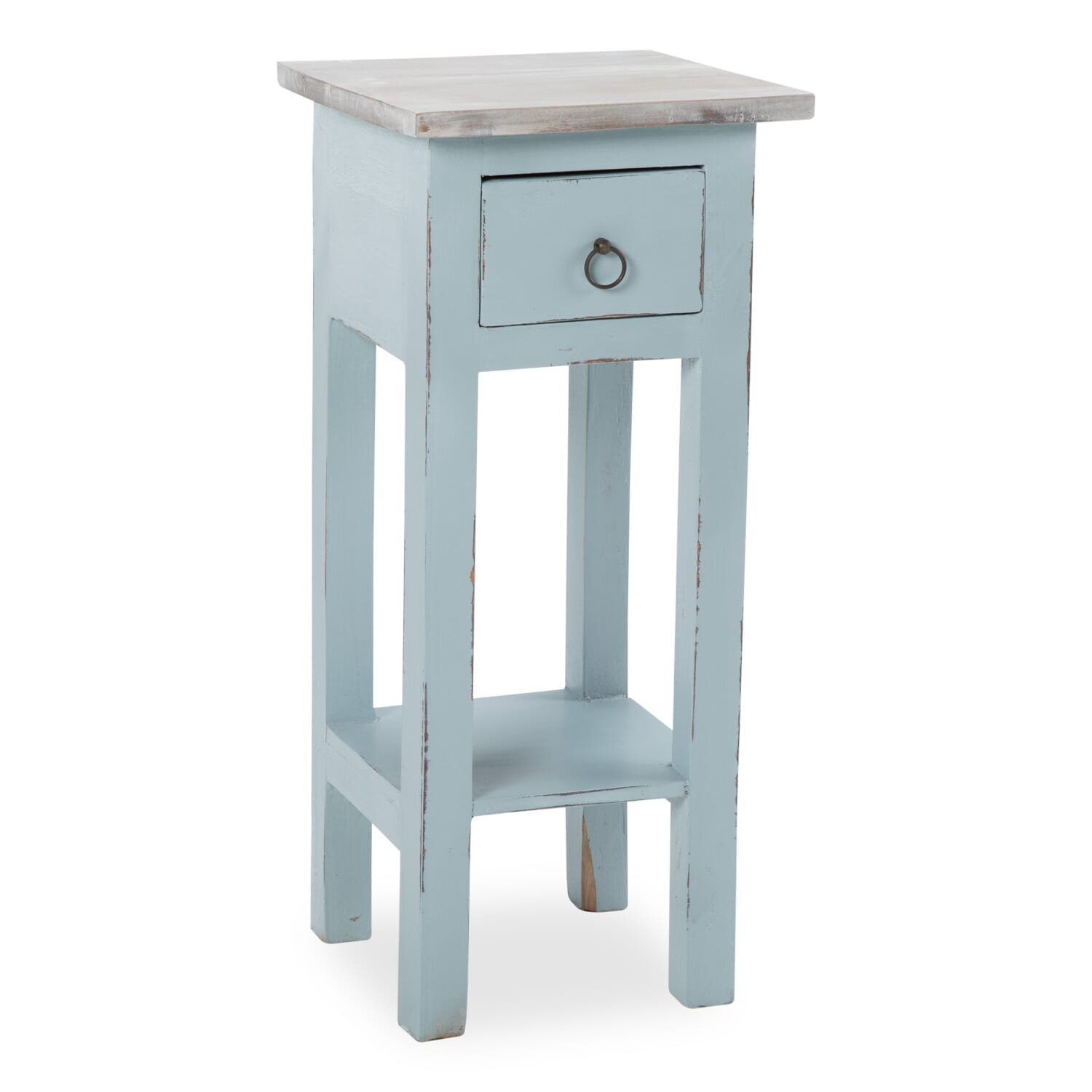 Annabelle Blue Side Table