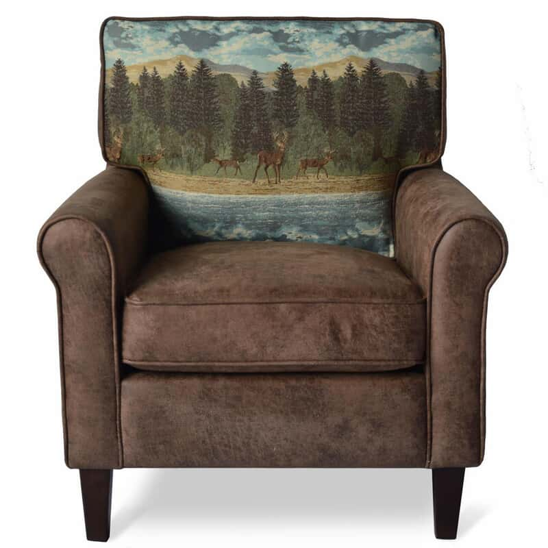 Surprising Oh Deer Accent Chair Machost Co Dining Chair Design Ideas Machostcouk