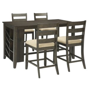 f73ce21ea111 Emily 5-Pc. Counter Height Dining Set