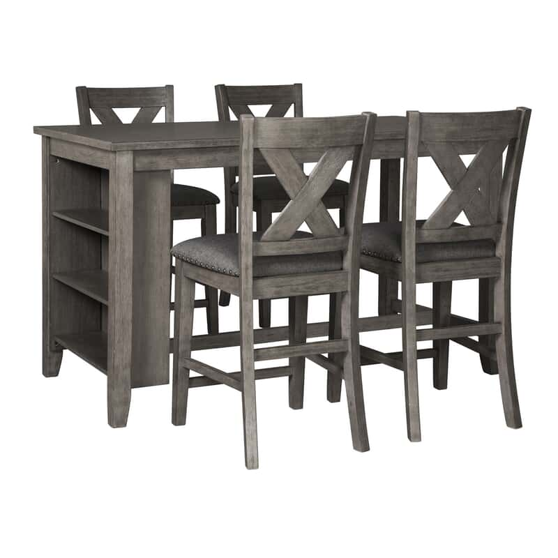 Philip 5-Pc. Counter Height Dining Package