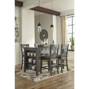 f4ecd9589435 Philip 5-Pc. Counter Height Dining Package | Dining Room Sets | WG&R ...