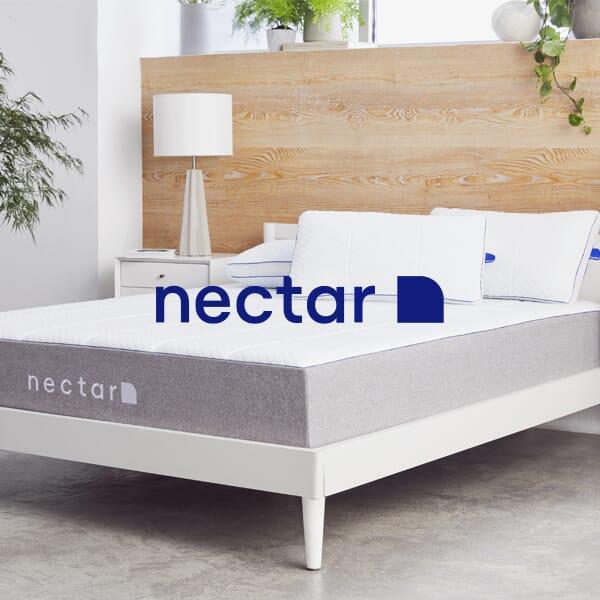 Nectar memory foam bed in a box