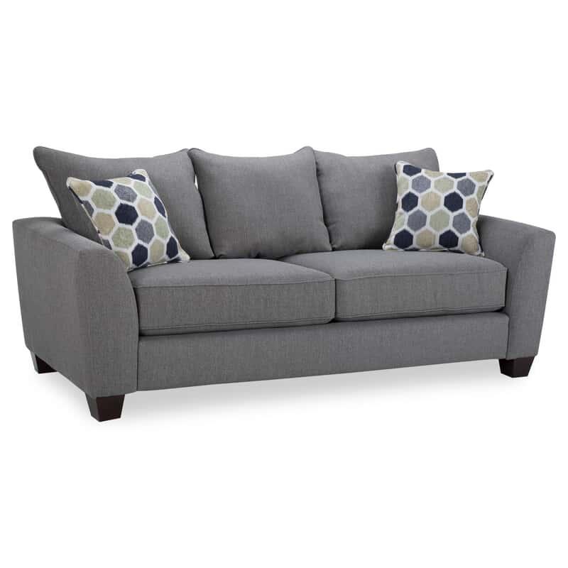 Downtown Gray Sofa