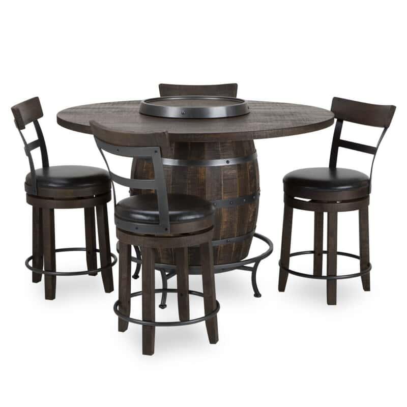 Barrel Ii 5 Pc Pub Dining Set
