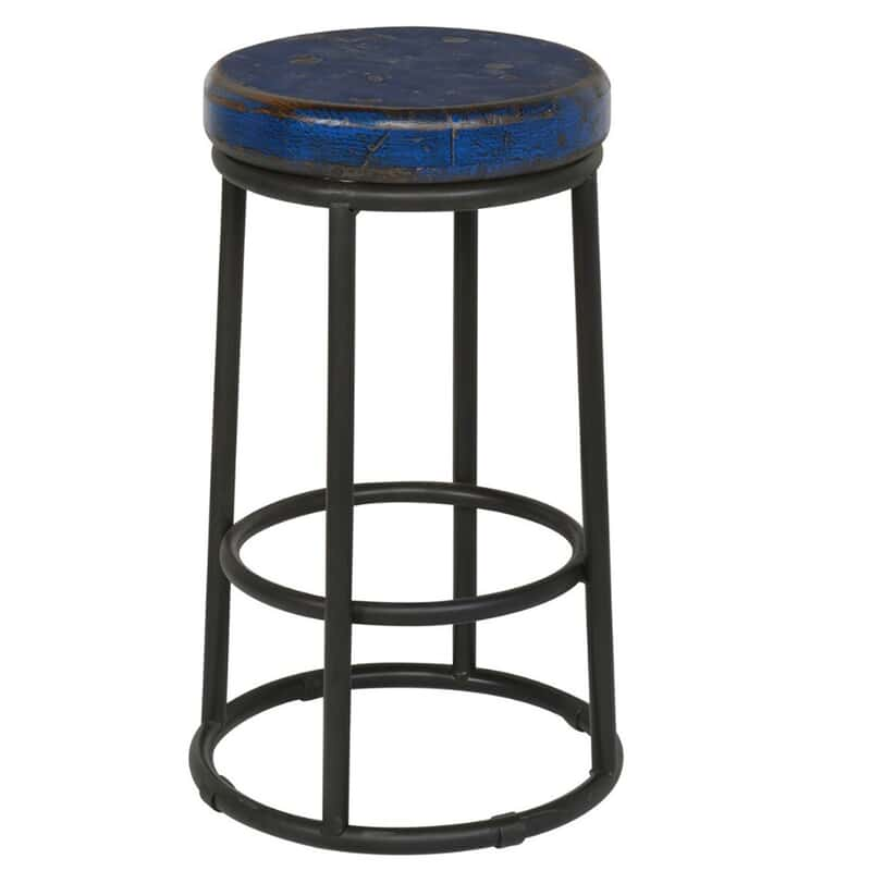 Super Jamal Blue Counter Stool Inzonedesignstudio Interior Chair Design Inzonedesignstudiocom