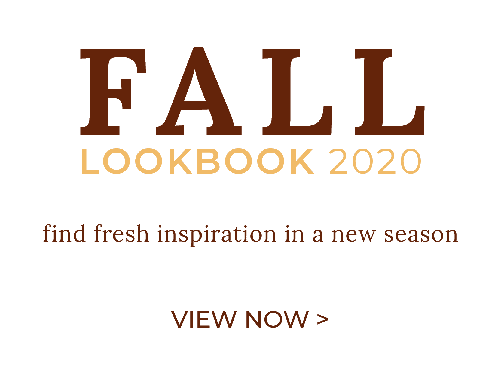 Fall 2020 Lookbook