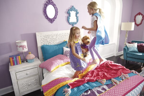 How to make sibling room-sharing a success