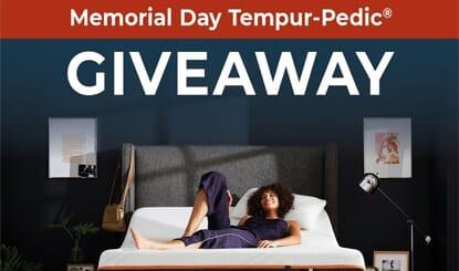 Memorial Day Tempur-Pedic® Giveaway!